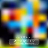 Abstract blurred background. — Vector de stock