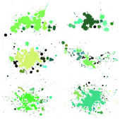 Blot, splashes set — Vector de stock