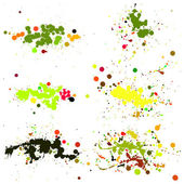 Blot, Splashes,  Stains Set — Stockvektor