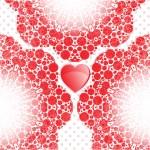 Happy valentines day card — Stock Photo #65095289