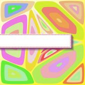 Abstract greeting card — Stock Photo
