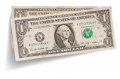 One dollar banknotes — Stock Photo
