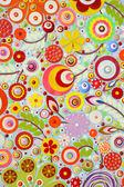 Acrylic paint texture — Стоковое фото