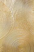 Gold paint on wooden panel — Stock Photo