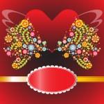 Valentine love card — Stock Photo #65159159