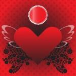 Valentine love card — Stock Photo #65159393