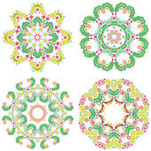 Lace ornament set — Stock Photo
