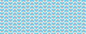 Geometric pattern with hearts — Stock Photo