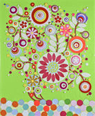 Original floral bouquet  composition — Stock Photo