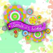 Smile it's Friday tag — Stock Photo