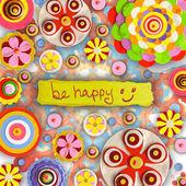 Be happy cheer up — Stock Photo