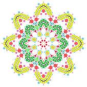 Okrągły wzór koronki — Zdjęcie stockowe