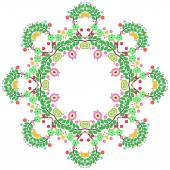 Round lace pattern — Stock Photo