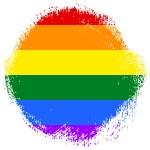Gay and LGBT rainbow flag — Stock Photo #65305159