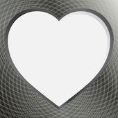 情人节那天的心 — 图库照片