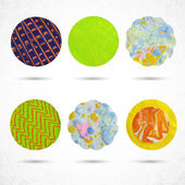 Design circle elements — Stock Vector