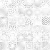 White and grey   backgrounds — Stock Vector