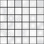 White and grey   backgrounds — Vector de stock