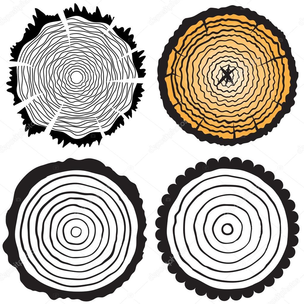 Couper le tronc d 39 arbre image vectorielle goldenshrimp 71399805 - Tronc d arbre coupe ...