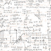 Mathematical seamless texture — Stock Vector