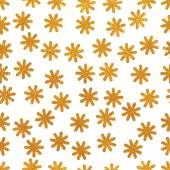 Pattern with stylized dandelions — Stock Vector