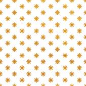 Pattern with stylized dandelions. — Stock Vector
