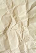 Crumpled paper texture, white, yellow, brown, gray paper sheet b — Stock Photo