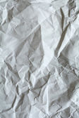 White crumpled paper for background. — Stock Photo