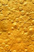 Gold textured surface — Stock Photo