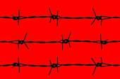 Barbwire — Stock Photo