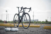 Carbon bicycle — Stock Photo