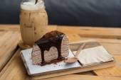 Caffè e dessert — Foto Stock