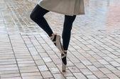 Ballerina en Pointe — Foto de Stock