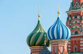 St. Basil Cathedral, Red Square, Moscow — Fotografia Stock