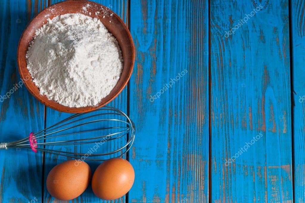 Bakken taart in landelijke keuken   deeg recept ingrediënten ...