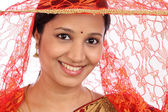 Young traditional woman — Stock Photo