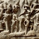 Arjuna's Penance, Mahabalipuram, Chennai, India — Stock Photo #61352593