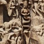 Arjuna's Penance - Mamallapuram, India — Stock Photo #61352683