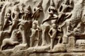 Arjuna's Penance, Mahabalipuram, Chennai, India — Stock Photo