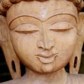 Lord buddha face — Stock Photo