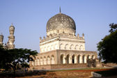 Qutb Shahi Tombs in Hyderabad, India — Stock Photo