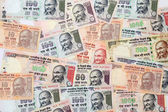 Indian currency bank notes — Stock Photo