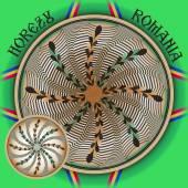 Famous Handmade Romanian Ceramics of Horezu — Vecteur