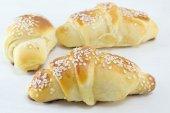 Homemade pastry on white — Stock Photo