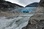 Nigardsbreen glacier, Norway — Foto Stock