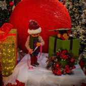 Articles de décoration de Noël — Photo