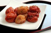 Pickled plum in Japan, Umeboshi — Stock Photo