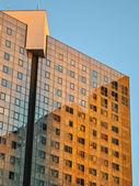Modern facade building — Stock Photo