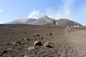 Summit craters on volcano Etna — Stock Photo