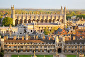Aerial view of Cambridge's Colleges — Foto Stock